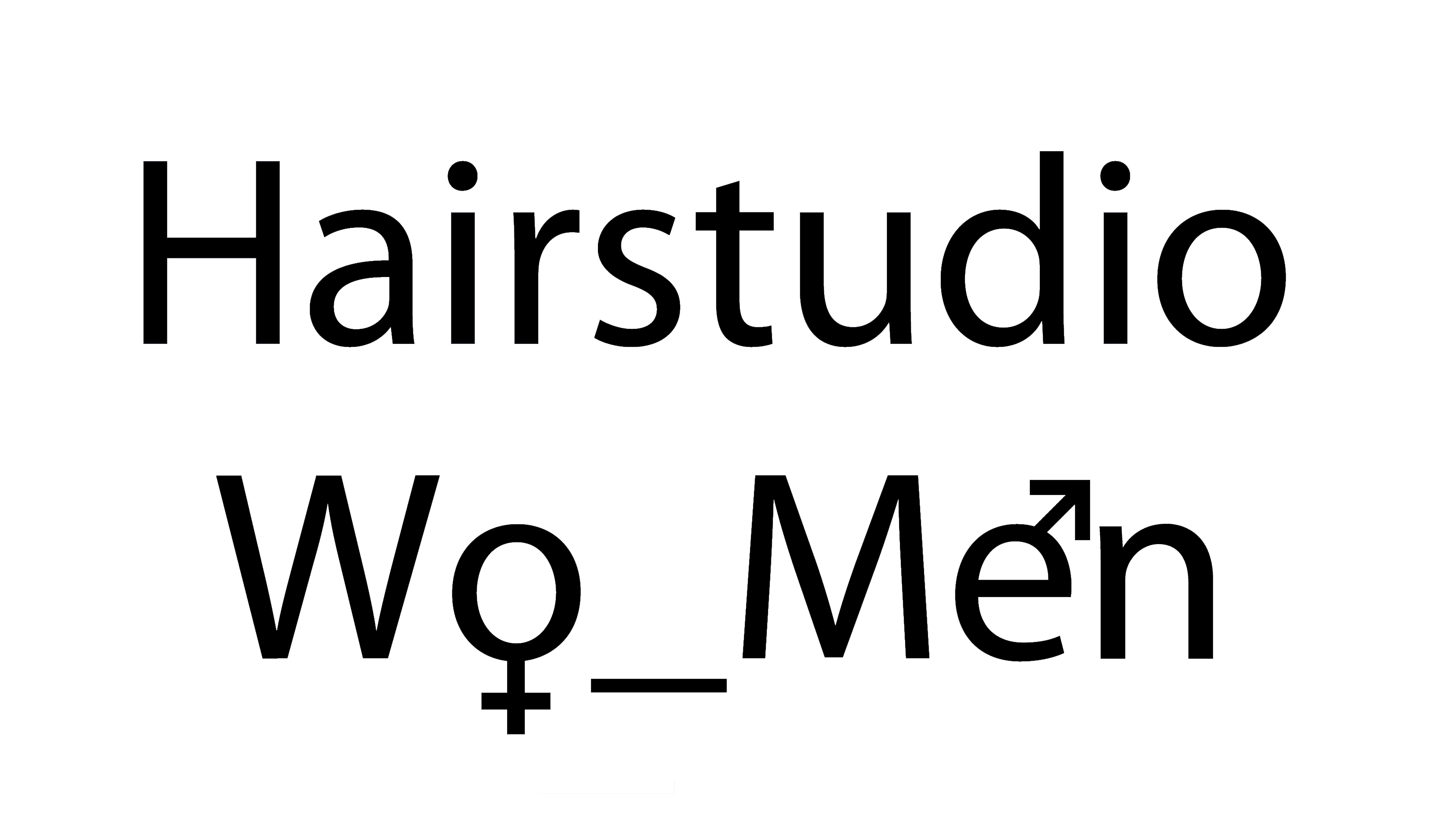 Logo Hairstudio Wo_Men